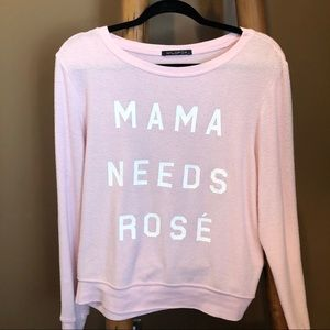 Pink Wildfox Top
